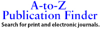 A-to-Z Publication Finder